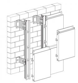 Подсистема для композитных панелей